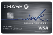 Chase Ink Business Cash<sup>SM</sup> - best Cash Back Business Credit Cards
