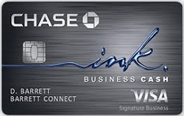 Chase Ink Business Cash<sup>SM</sup> Cards - business credit Cards for Startups