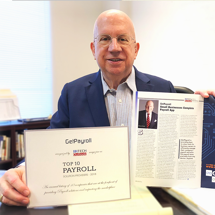 Charles Read, President & CEO of Get Payroll