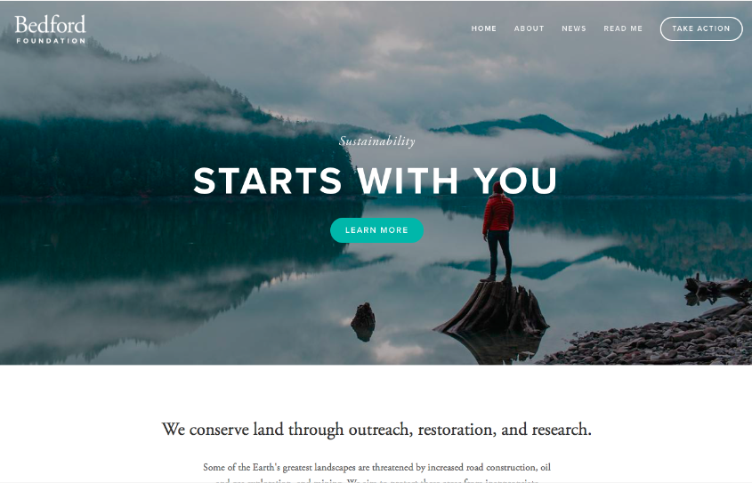 Bedford - best squarespace templates