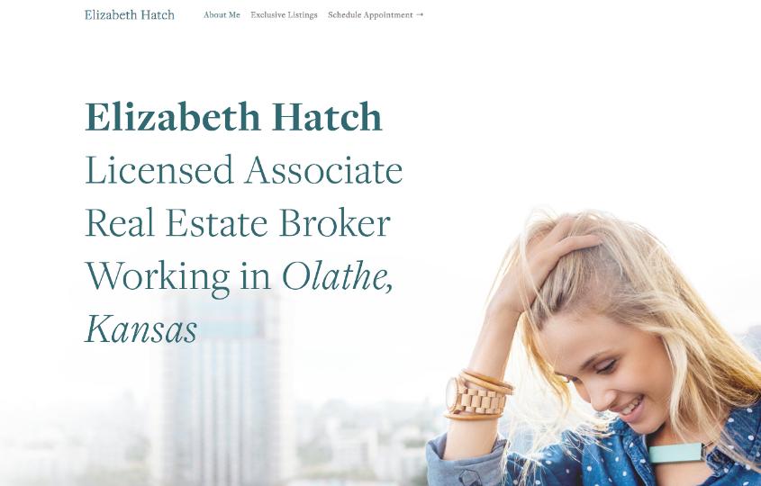 Elizabeth Hatch - best squarespace templates