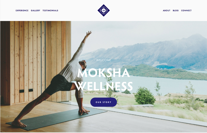 Moksha - best squarespace templates