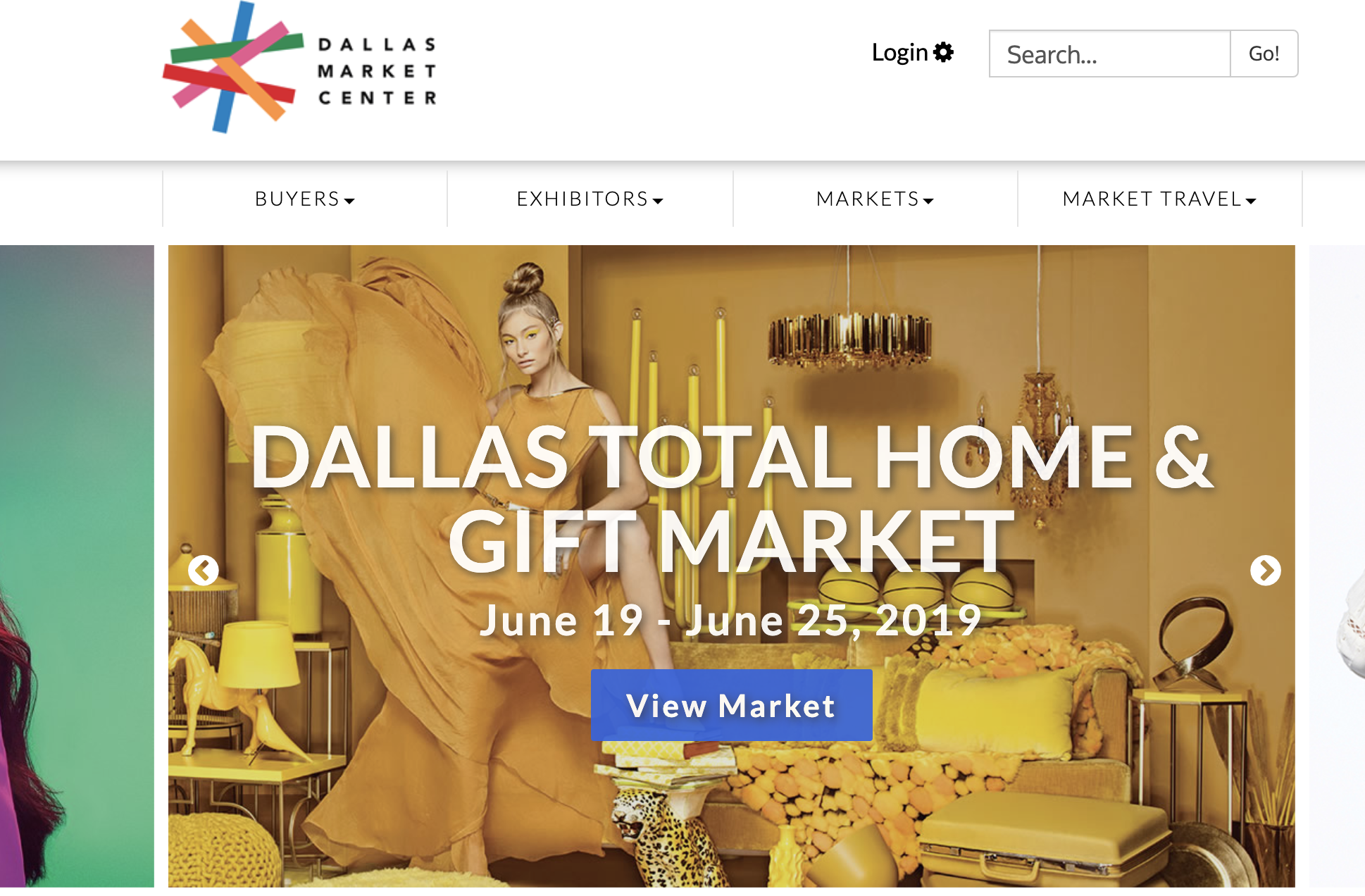 Dallas Market Center buyers market