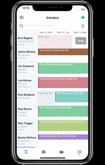 Float mobile app