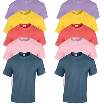 Block Color Plain Tees - best things to buy and sell for profit