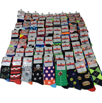 Colorful Fashion Dress Socks - best things to buy and sell for profit