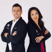 Dr. Dustin Cohen and Dr. Stacey Cohen of The Practice of Beverly Hills