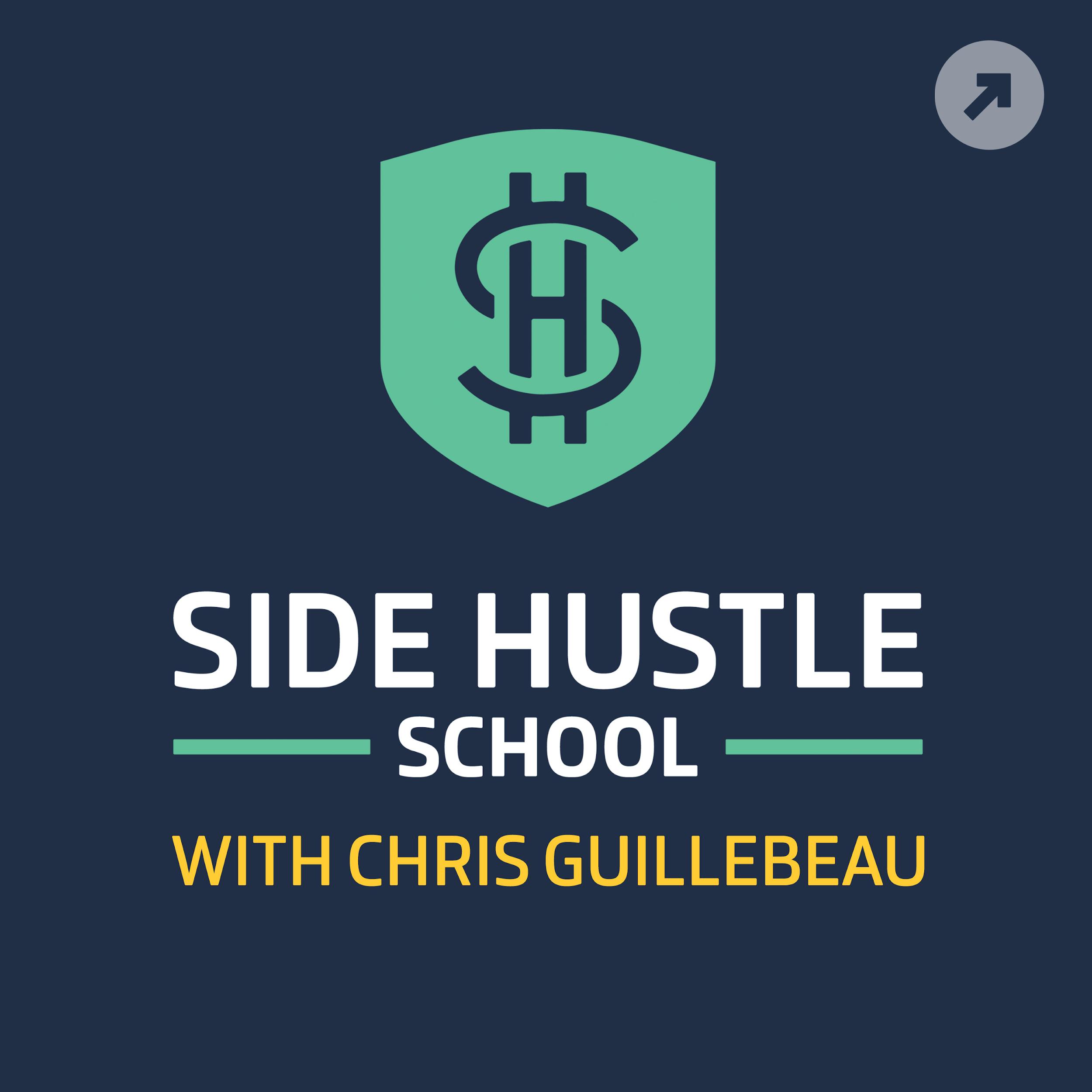 Side Hustle School - best entrepreneur podcasts