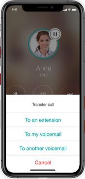 Ooma iPhone app