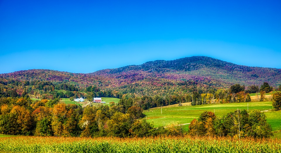 photograph of Rural Vermont