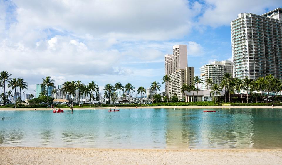 photograph of Oahu, Hawaii