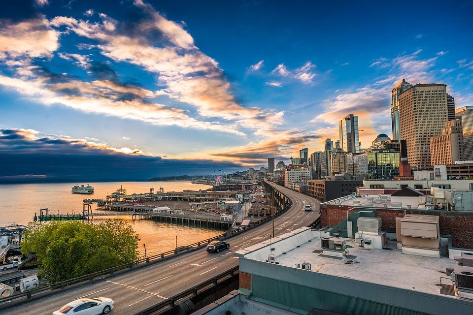 photograph of Seattle, Washington