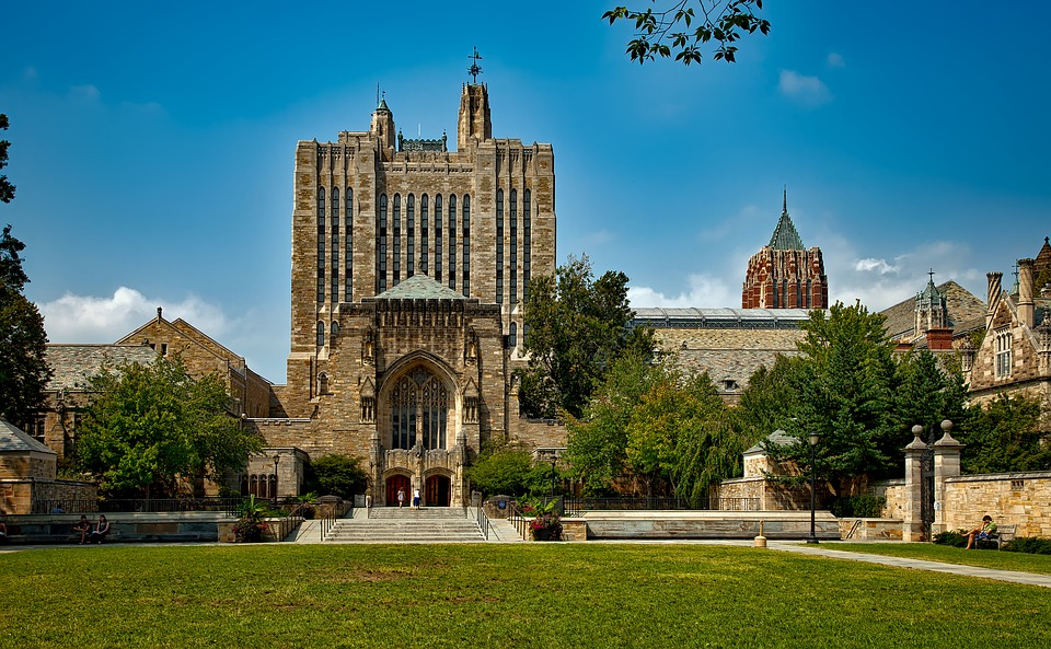 photograph of Yale in New Haven, Connecticut