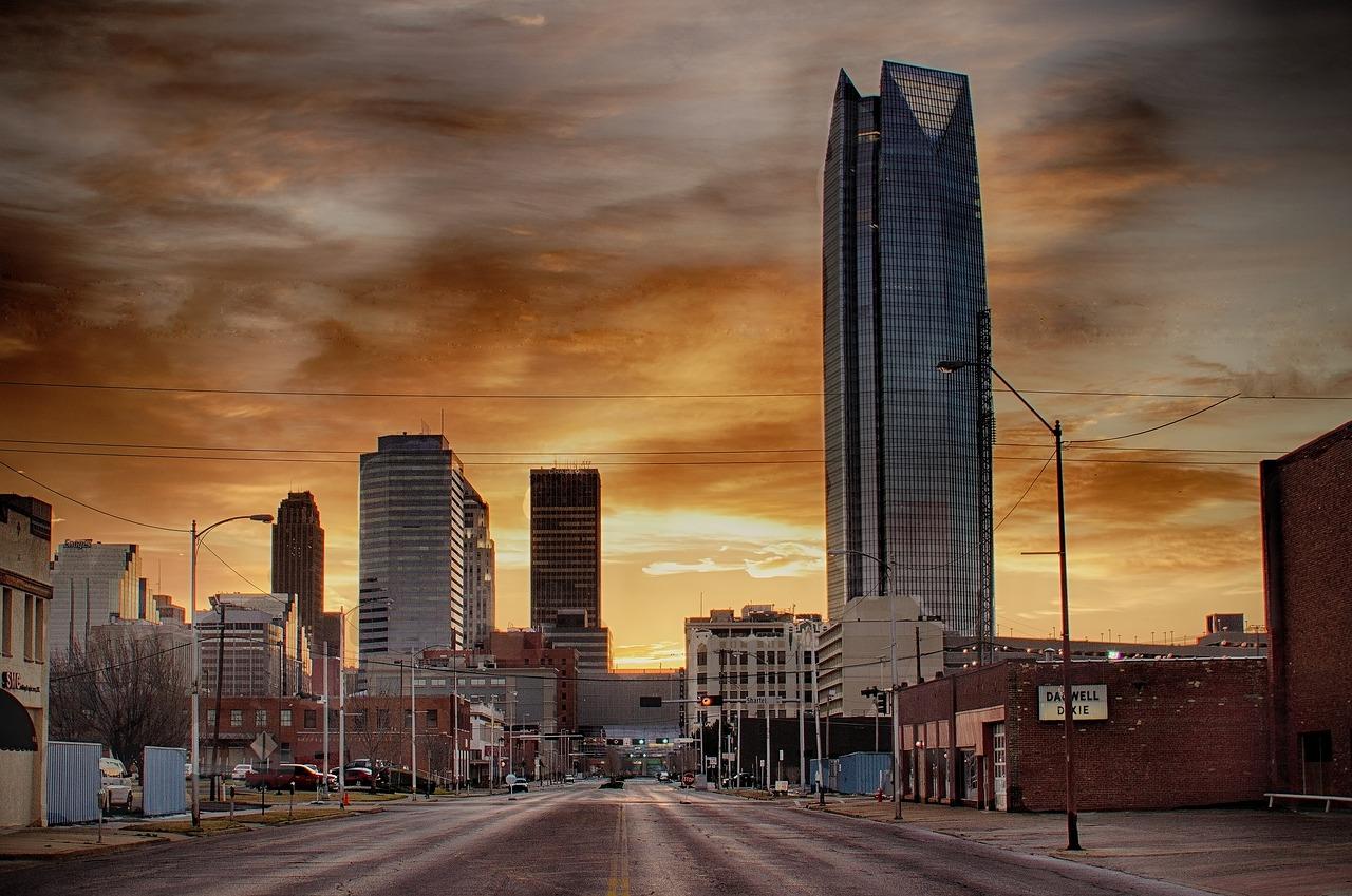 photograph of Oklahoma City, Oklahoma