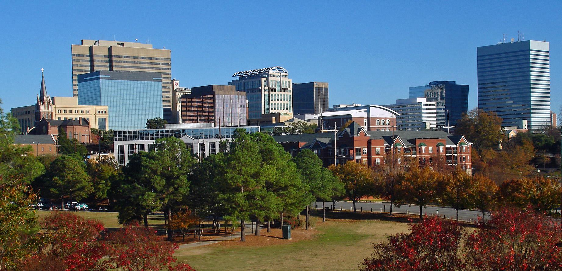photograph of Columbia, South Carolina