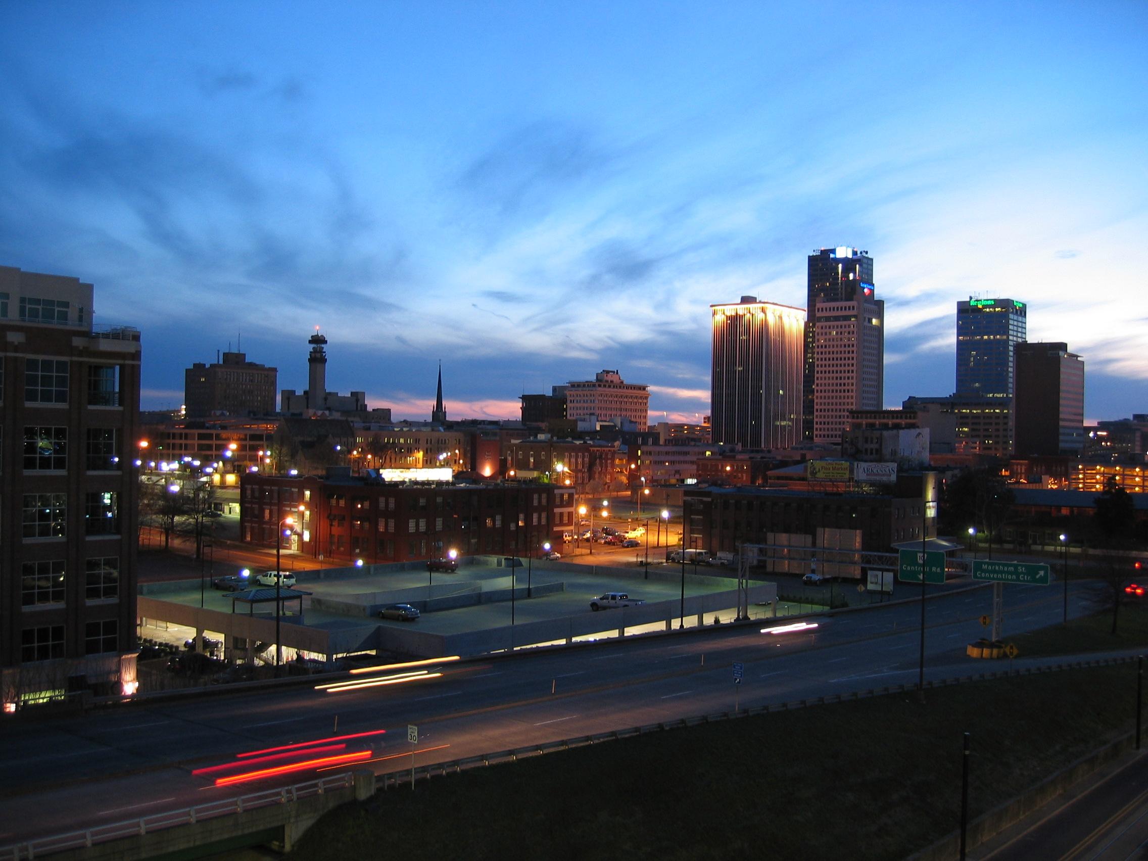 photograph of Little Rock, Arkansas