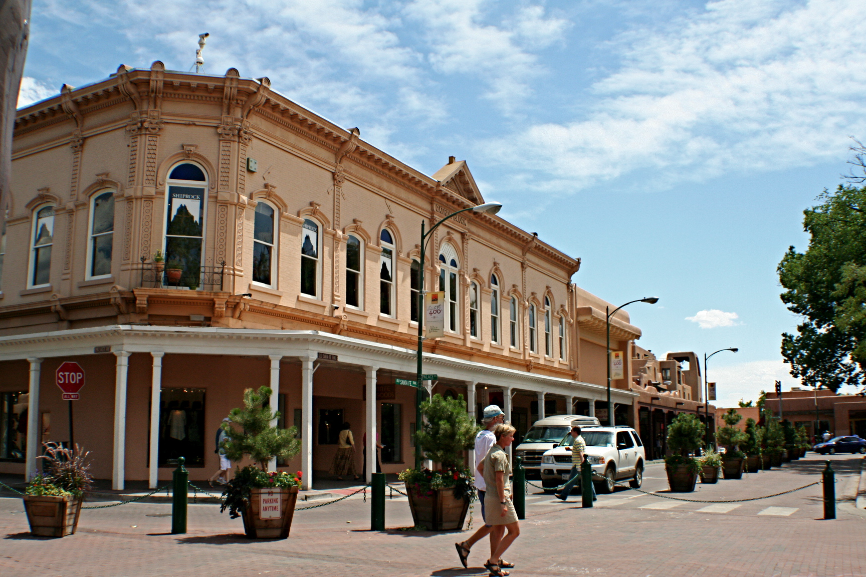 photograph of Santa Fe, New Mexico