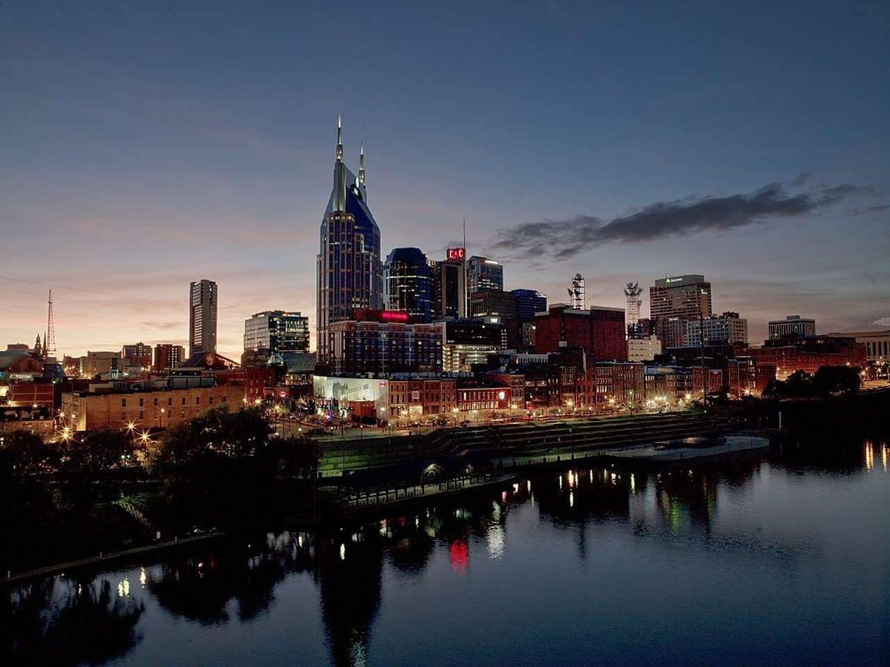photograph of Nashville, Tennessee