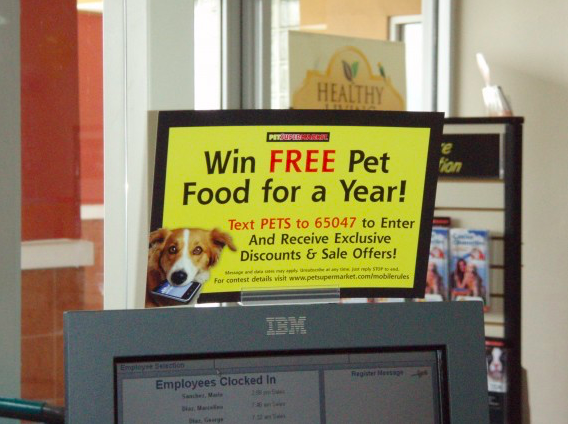 Pet Supermarket - what is sms marketing