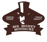 Mr. Money Mustache finance blog logo