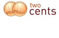 Two Cents finance blog logo