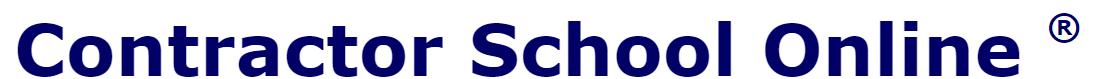 Contractor School Online logo
