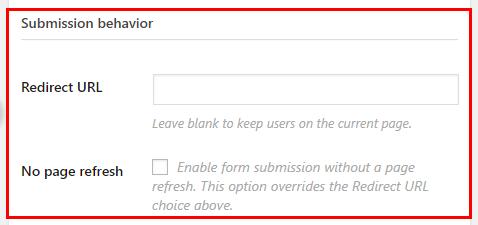 Modulo URL di contatto costante