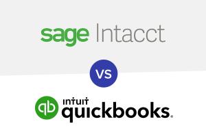 Sage Intacct vs QuickBooks logo
