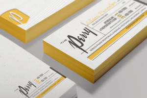 the perry business card