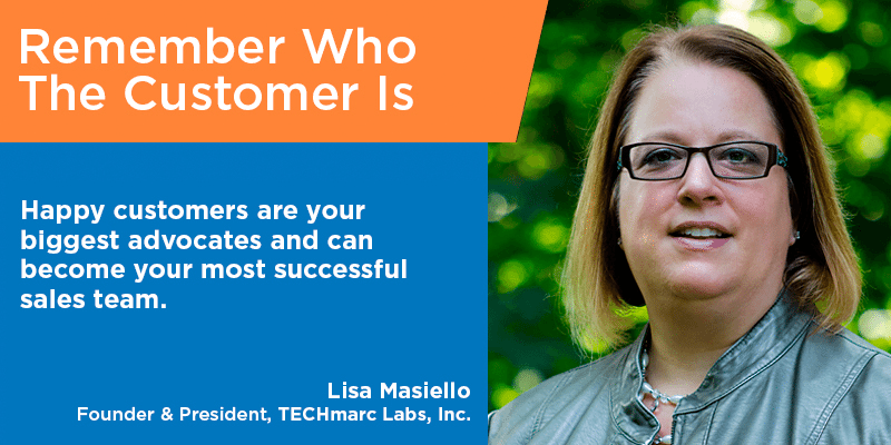Lisa Masiello - customer service quotes - Tips from the Pros