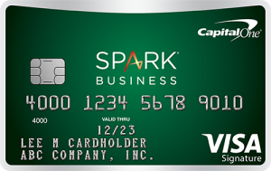 Capital One Spark Cash for Business credit card