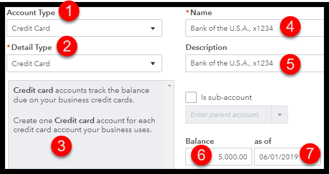 how to enter credit card transactions in quickbooks