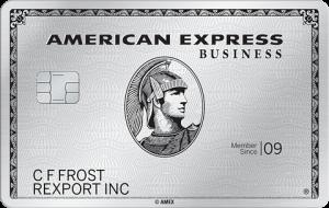 American Express Business Platinum Credit Card