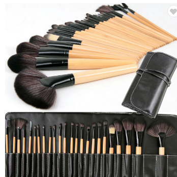 24 piece Professional Cosmetic Brush Set