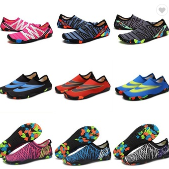 Mockup of water sports shoes