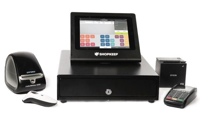 shopkeep's ipad POS system