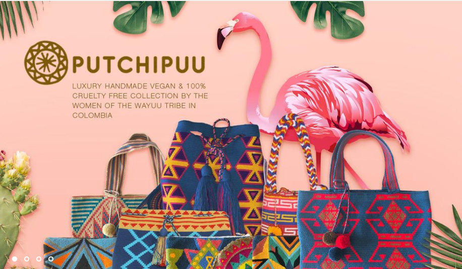 Screenshot of Putchipuu's online store