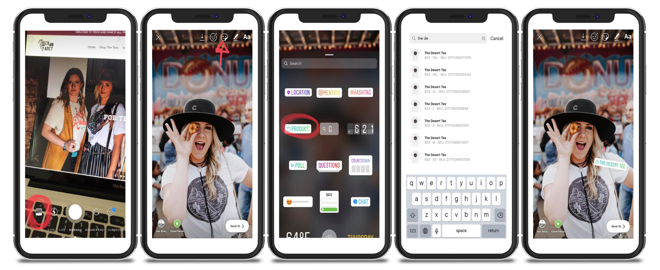 How to tag products in Instagram stories