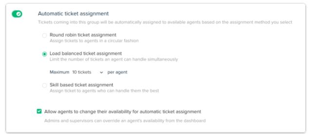 Automatic Ticket Assignment Screenshot