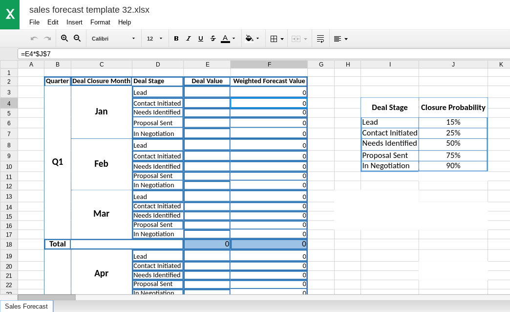 B2B Lead Driven Excel sheet