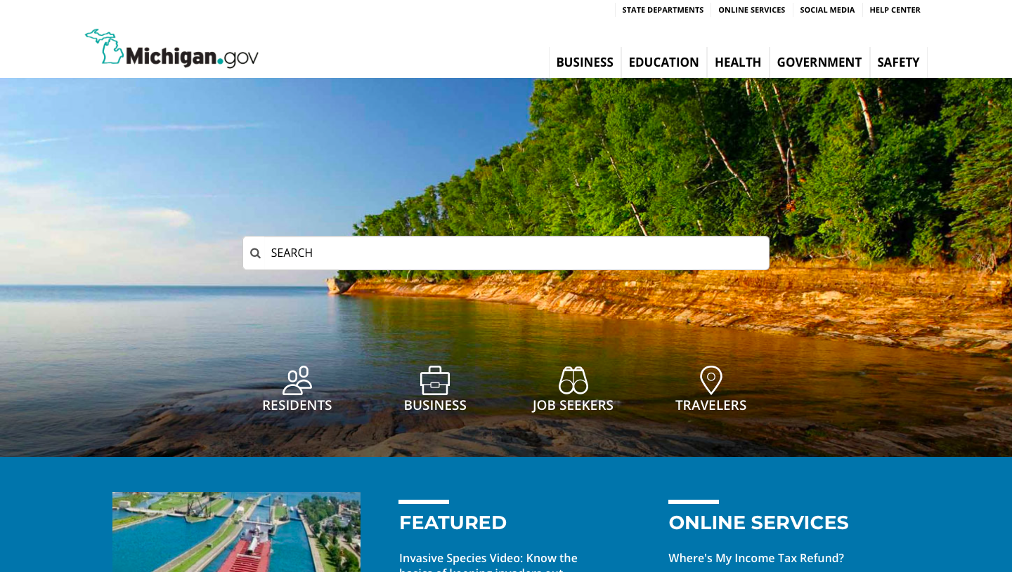 Michigan.gov Homepage