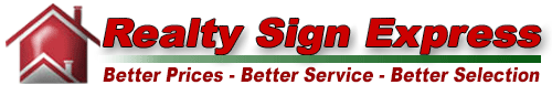 Realty Sign Express Logo