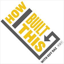 how i built this podcast logo