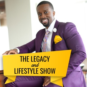the legacy lifestyle show podcast logo
