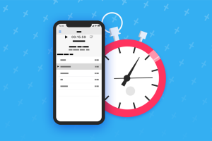 phone and clock timer