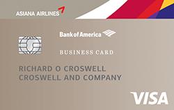 Asiana Visa® Business Card