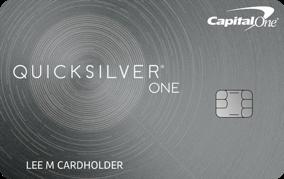 Capital One QuicksilverOne Rewards credit card