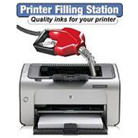 printer in filling station image
