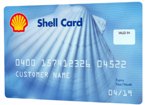 Shell Small Business Gas Card
