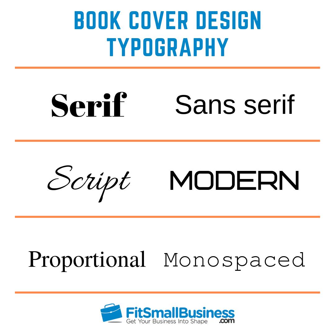 book cover design fonts - book cover design